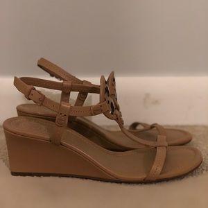 9f5f908d3cb Tory Burch Shoes - Tory Burch Miller 60mm wedge sandal dusty cypress